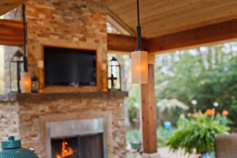 Featured Landscaping Pictures | Outdoor Getaway | Kingwood TX on Warrens Outdoor Living id=69543