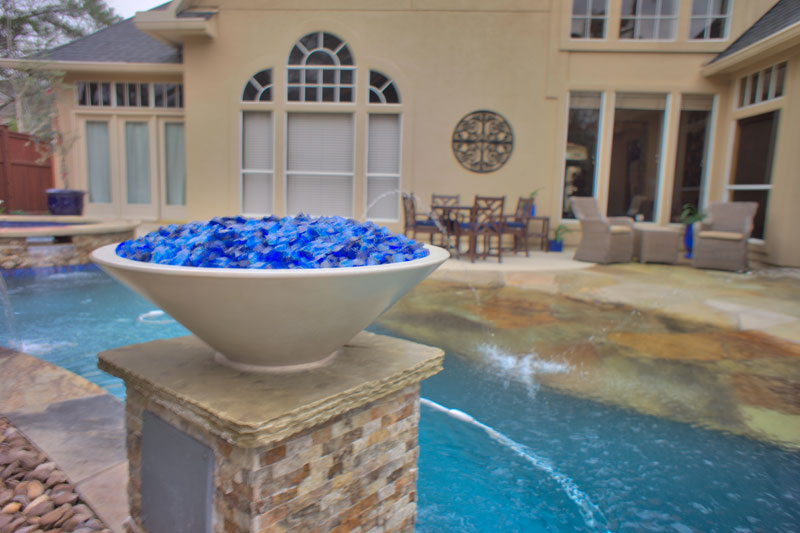 Featured Landscaping Pictures | Pool Oasis | Kingwood TX on Warrens Outdoor Living id=77441