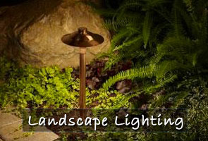landscape lighting kingwood tx