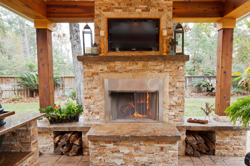 Featured Landscaping Pictures Outdoor Getaway Kingwood Tx