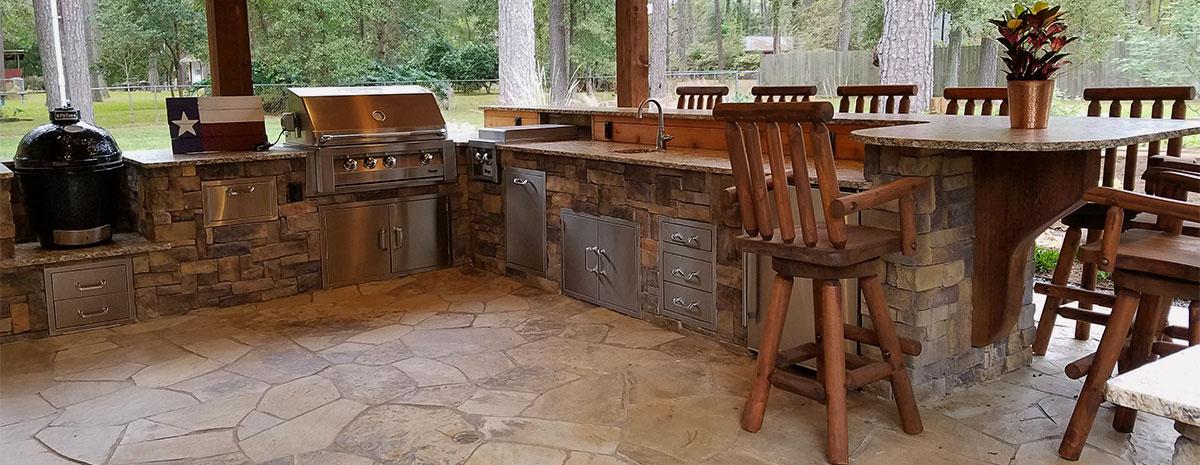 Outdoor Kitchen Designers In Kingwood Texas