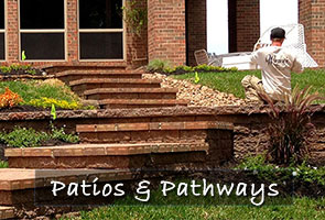 patios pathways