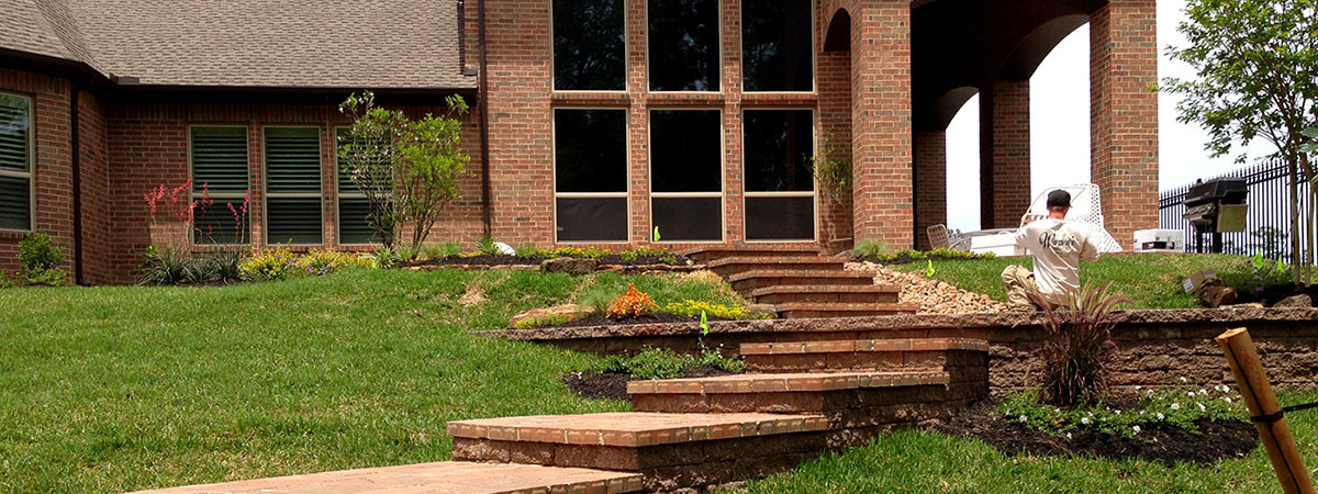 Kingwood Landscape Design and Installation