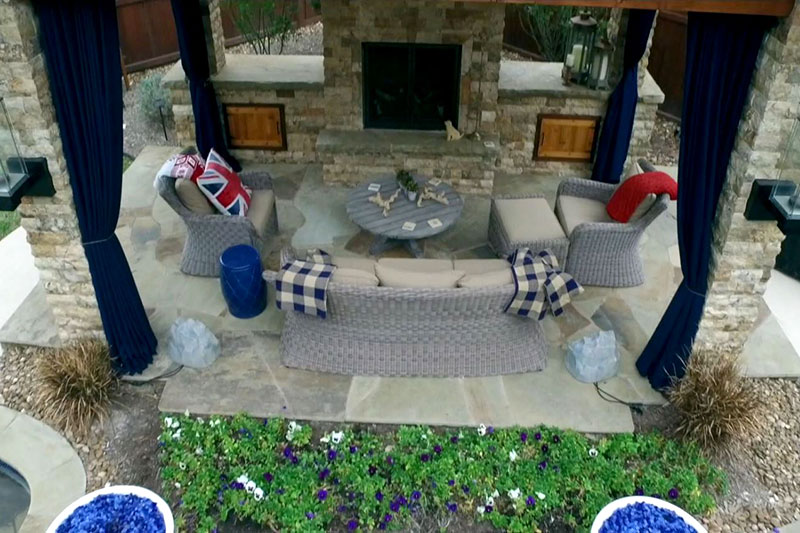 Featured Landscaping Pictures | Pool Oasis | Kingwood TX on Warrens Outdoor Living id=66729
